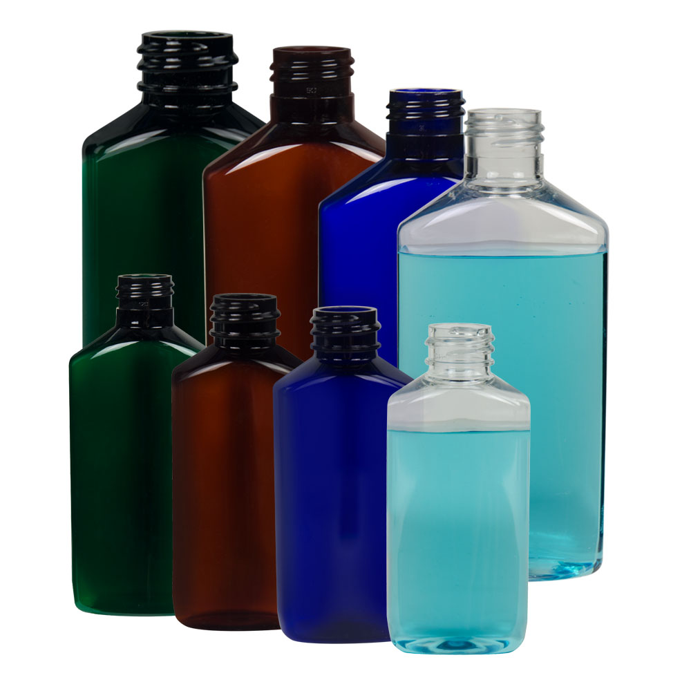 Drug Oblong PET Bottles