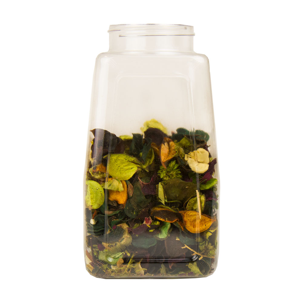 32 oz. Clear Paragon Spice Jar with 63mm Neck  (Cap Sold Separately)
