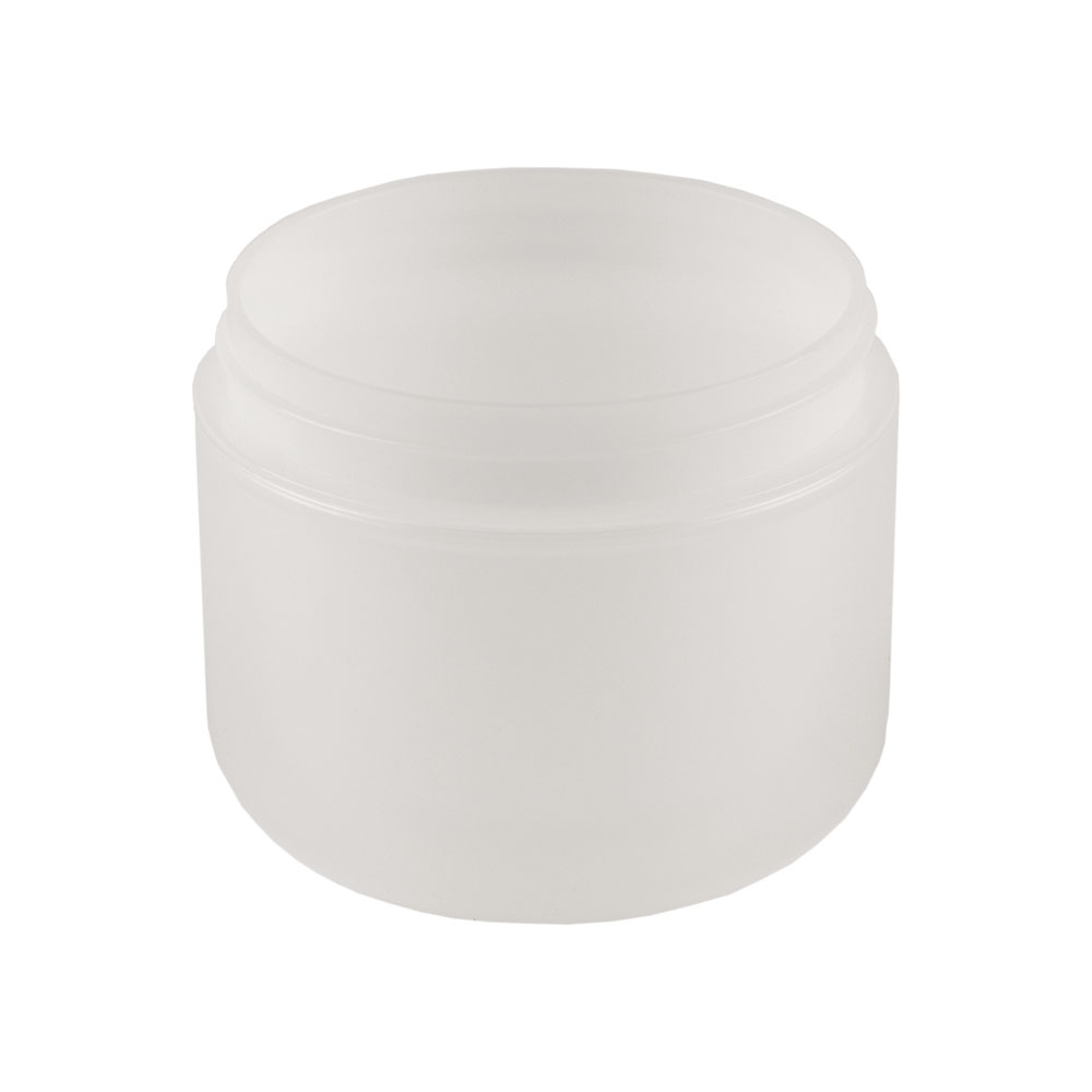 4 oz. Dome Double Wall Natural Jar with 70mm Neck (Cap Sold Separately)