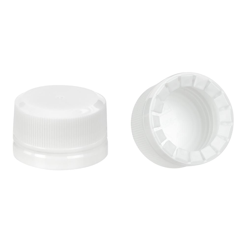 18mm White KERR Tamper Evident Cap