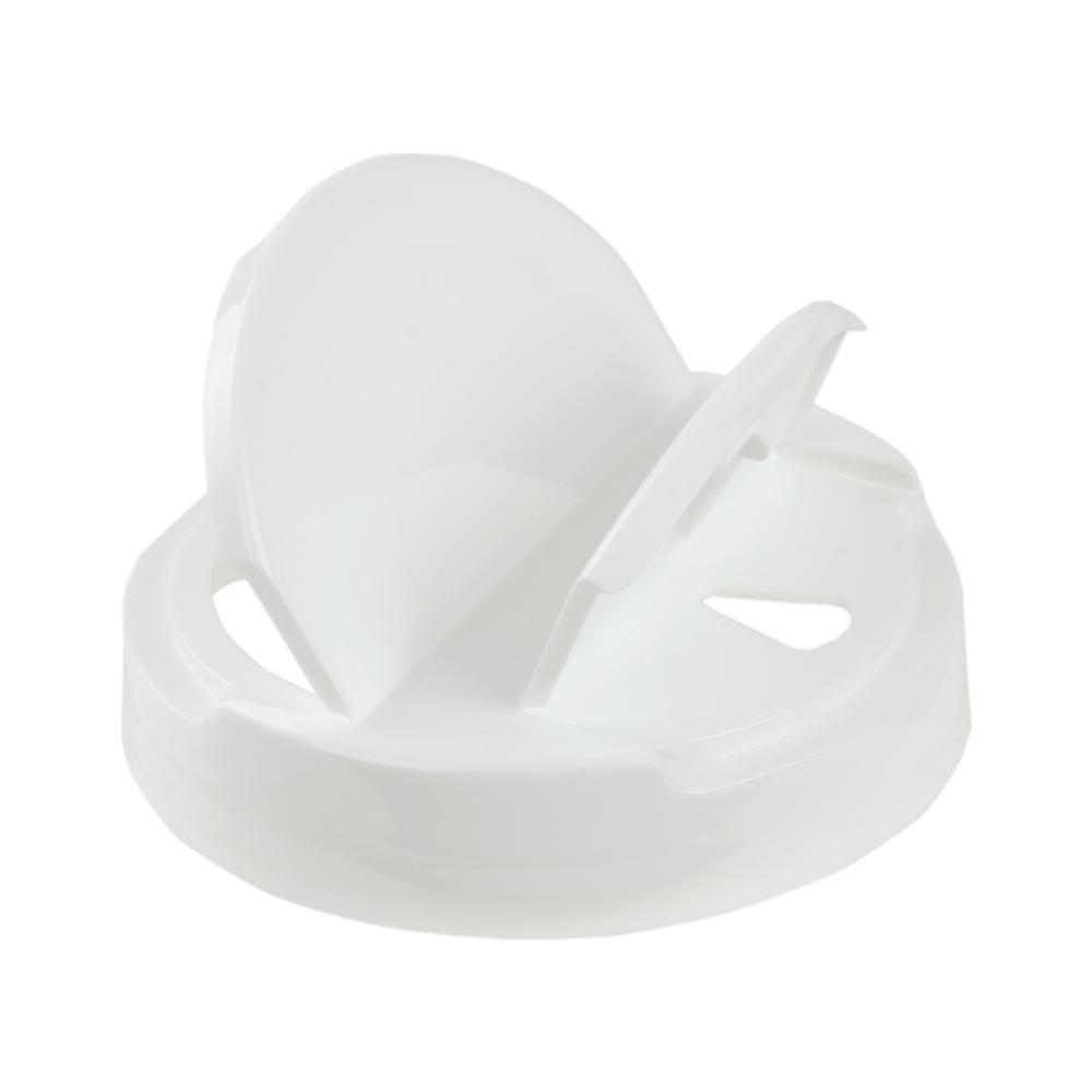 89/400 White Tear Drop Heat Seal Cap