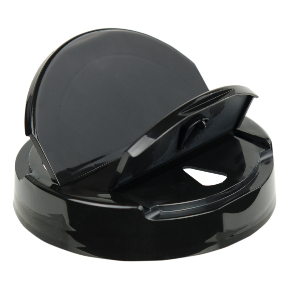 89/400 Black Tear Drop Heat Seal Cap