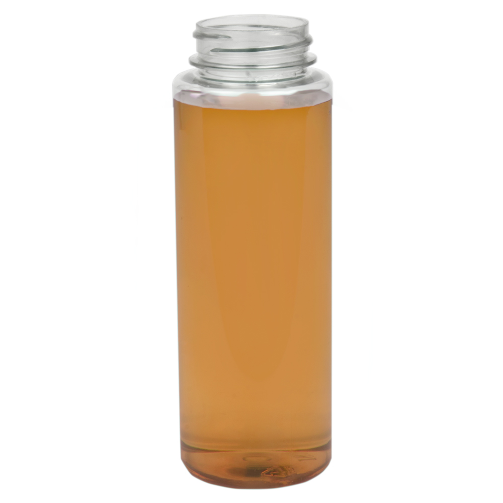 12 oz. PET Cylinder Round with 38/400 Neck (Caps sold separately)