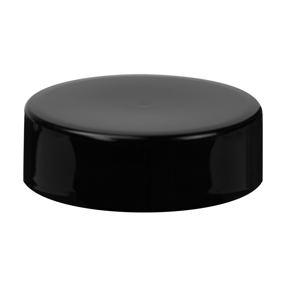 70/400 Black Polypropylene Extra Tall Unlined Cap