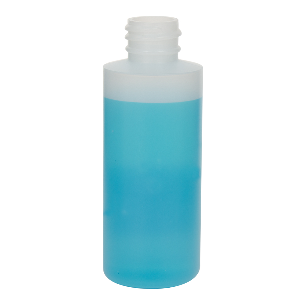 2 oz. Natural Cylinder Bottle with 20/410 Neck (Cap Sold Separately)