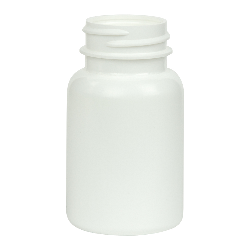 75cc/2.5 oz. HDPE Pharma Packer with 33/400 Neck (Cap Sold Separately)