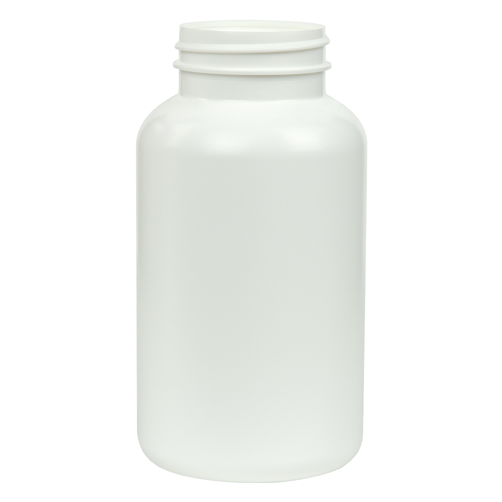 300cc/10.1 oz. HDPE Pharma Packer with 45/400 Neck (Cap Sold Separately)