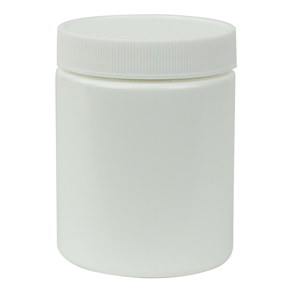 6 oz. White Jar with 58/400 Cap
