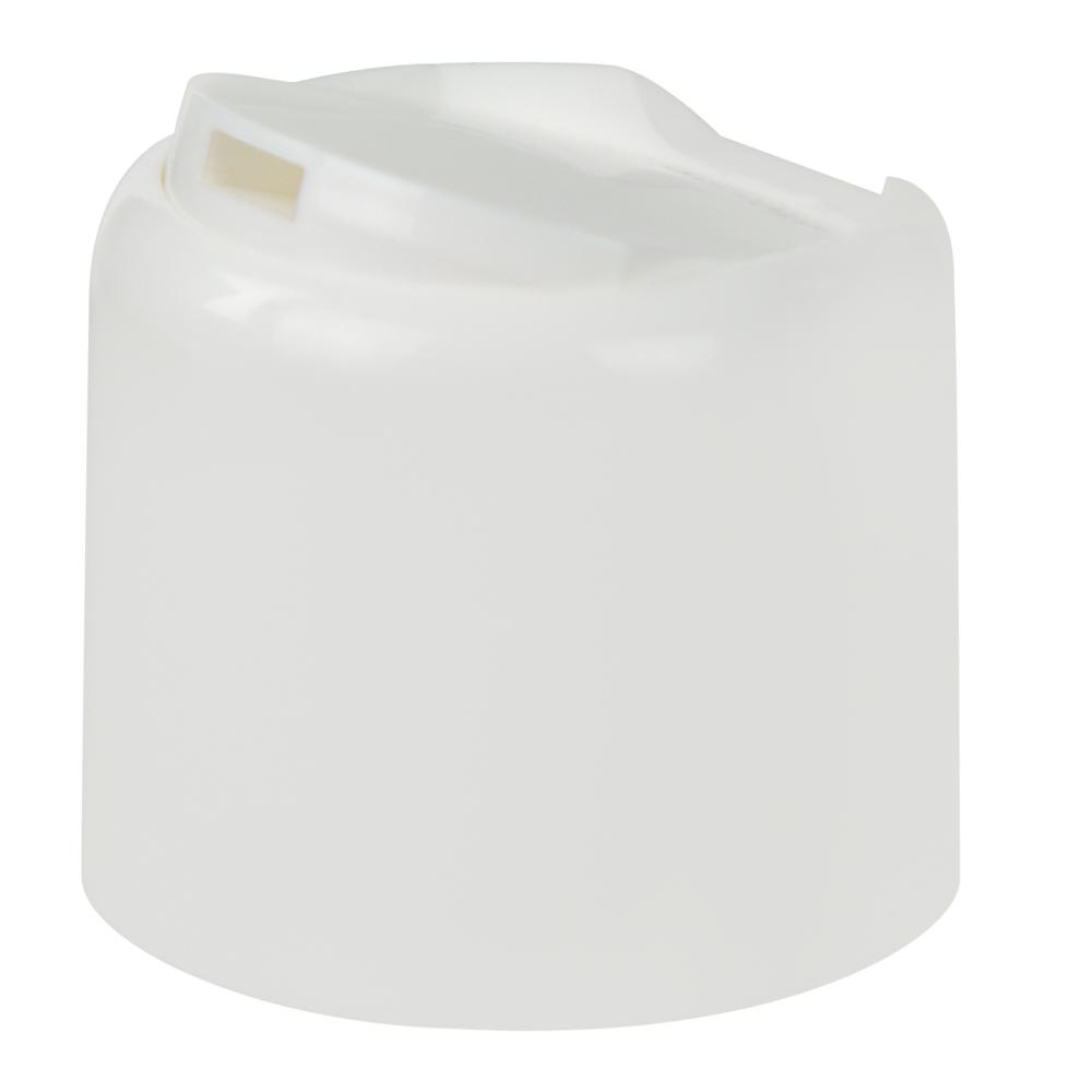 20/410 White Disc-Top Dome Cap