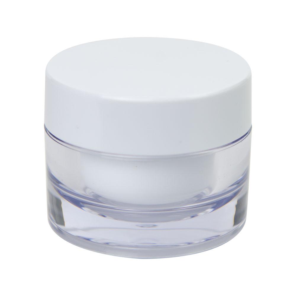 15mL SAN Jar with Cap & Tabbed Disc