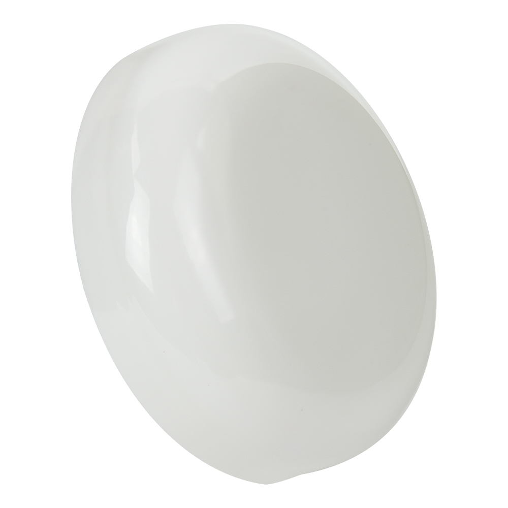 53/400 White Polypropylene Dome Cap w/out Liner