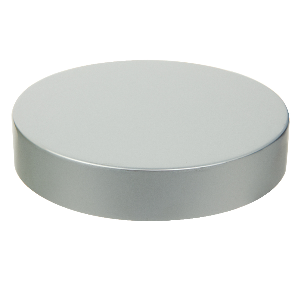 89/400 Brushed Silver Cap with Foam Liner