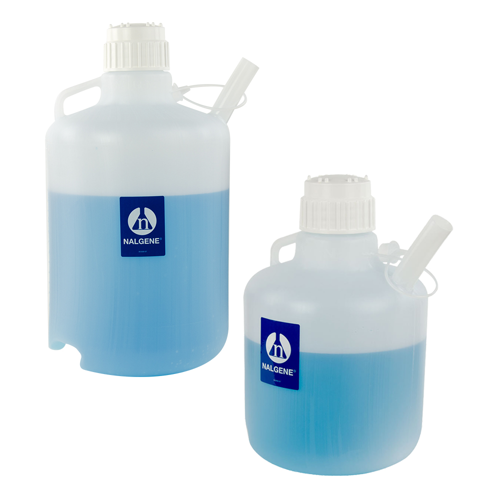 Nalgene™ LDPE Safety Dispensing Jugs with Closures
