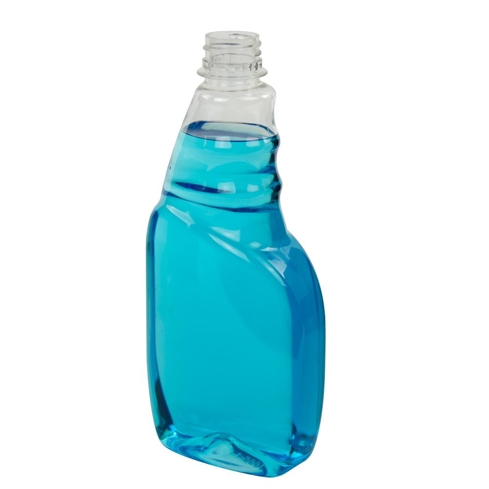 16 oz. PET Tremont Spray Bottle with 28/400 Ratchet Neck (Sprayer Sold Separately)