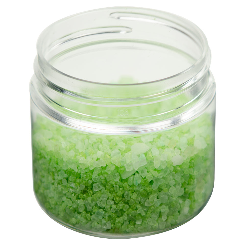 3 oz. Clear PET Straight Sided Jar with 58/400 Neck (Cap Sold Separately)