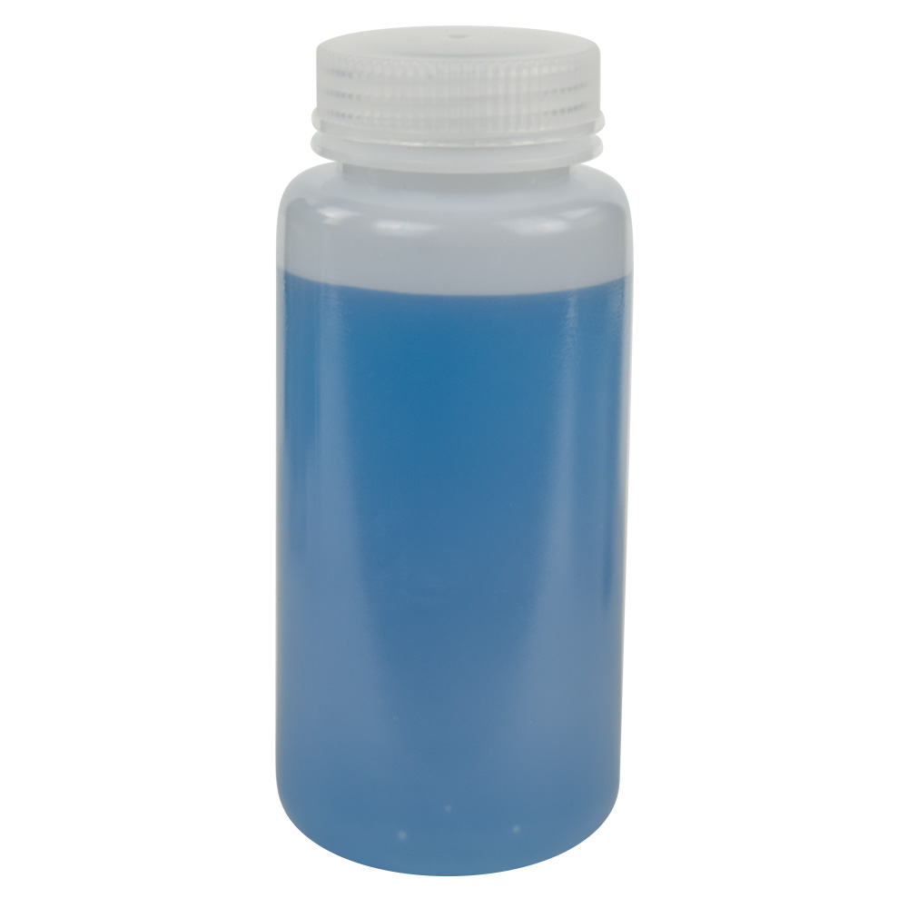 500mL HDPE Wide Mouth Bottle with 53/415 Polypropylene Cap