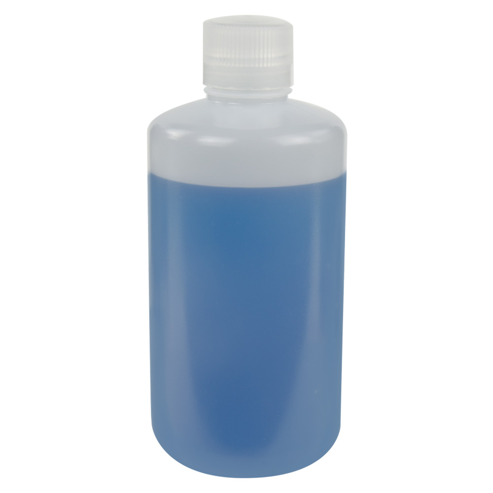 1000mL HDPE Narrow Mouth Bottle with 38/430 Polypropylene Cap