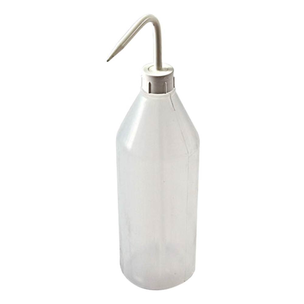 1000mL Azlon® Sloping Shoulder Wash Bottle with White Cap & Spout