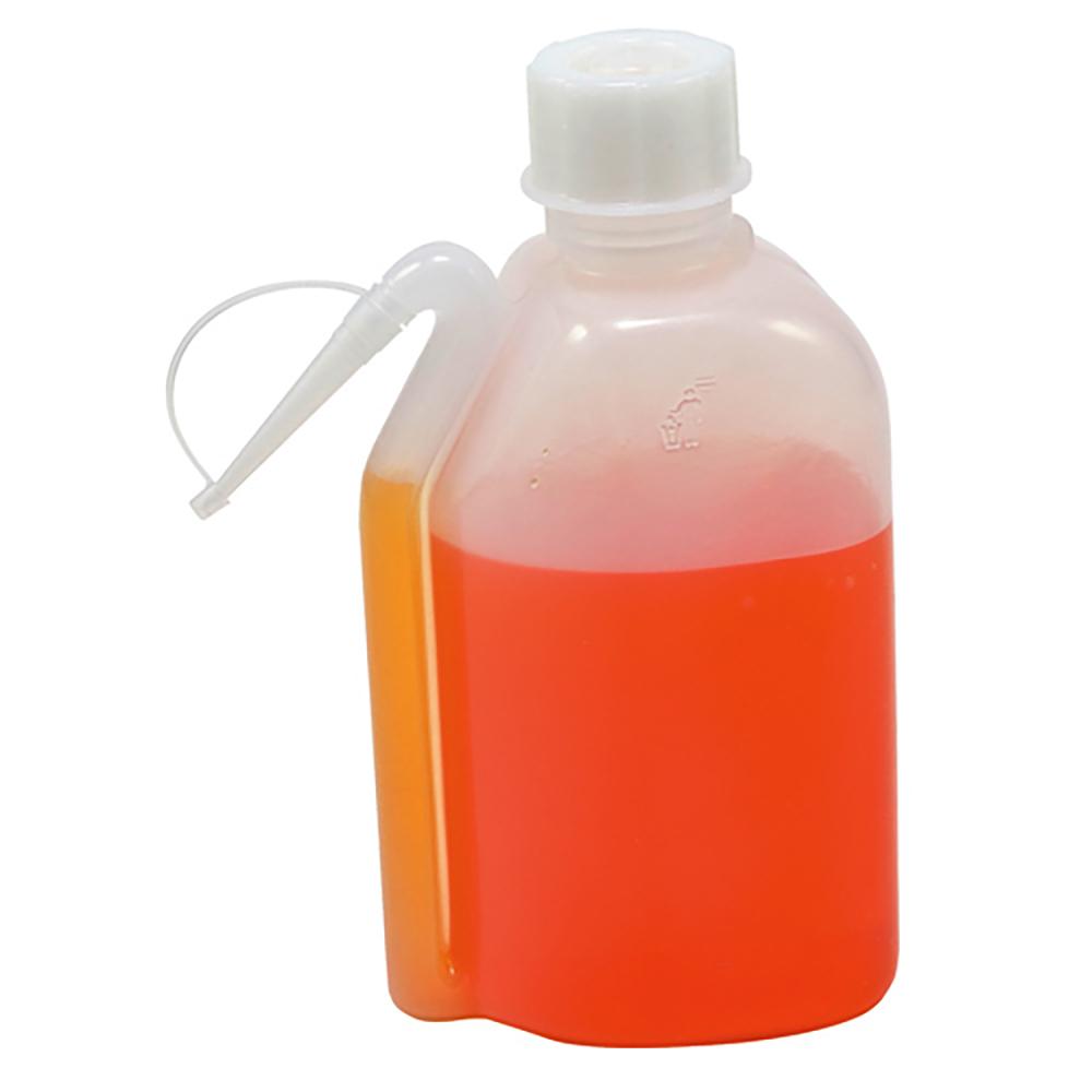 500mL Oblong Wash Bottle with Spout & Tip Cap