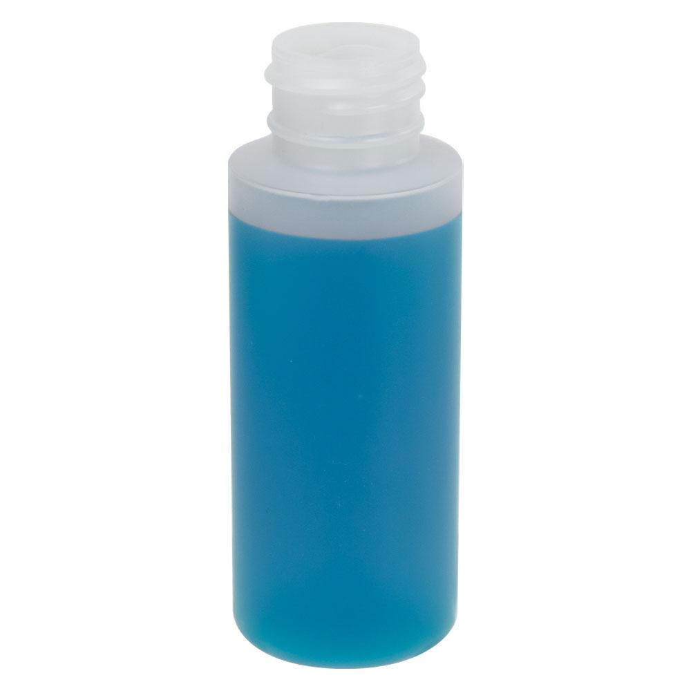 2 oz. Translucent Cylinder Bottle with 24/410 Neck (Cap Sold Separately)
