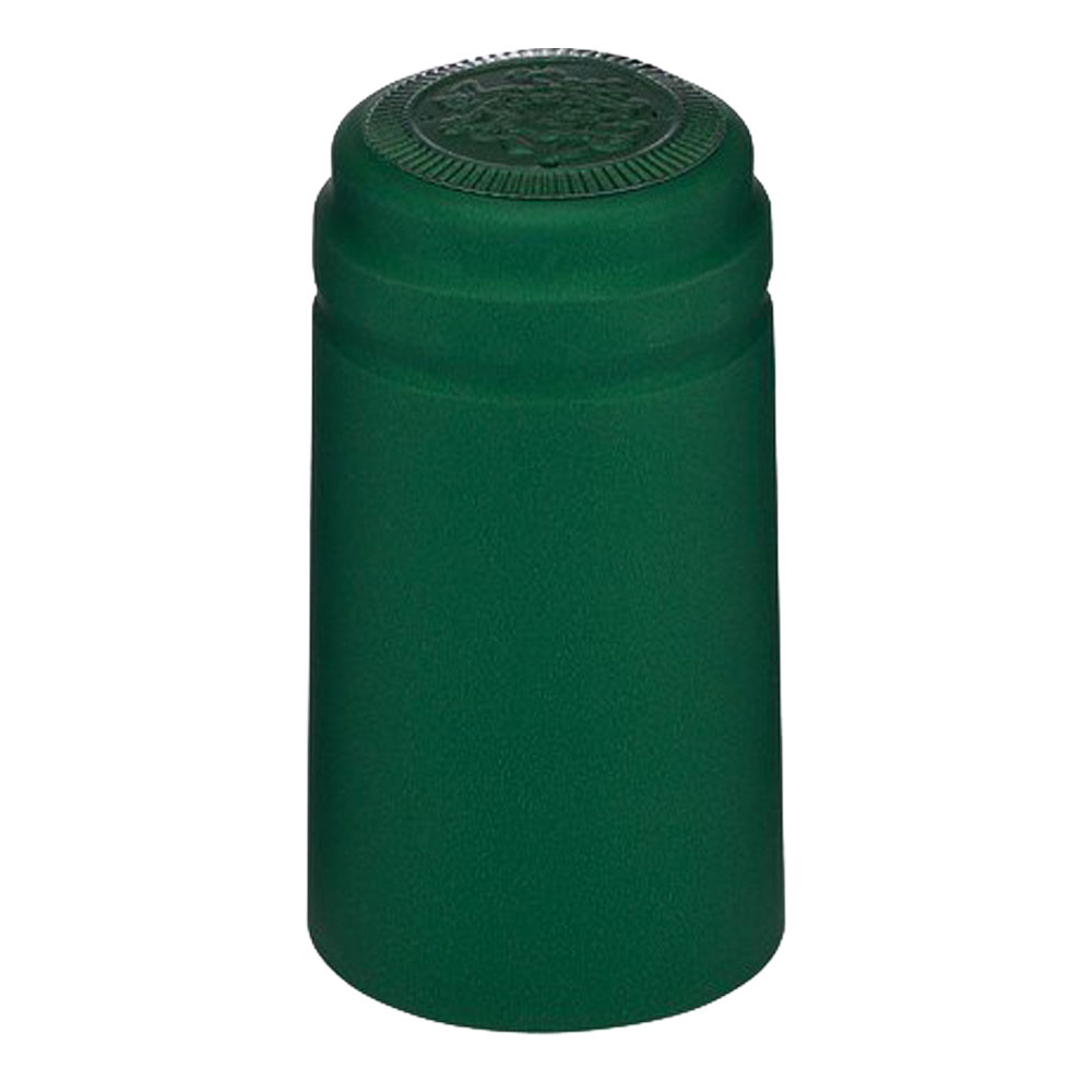 Metalic Green PVC Wine Bottle Shrink Capsules