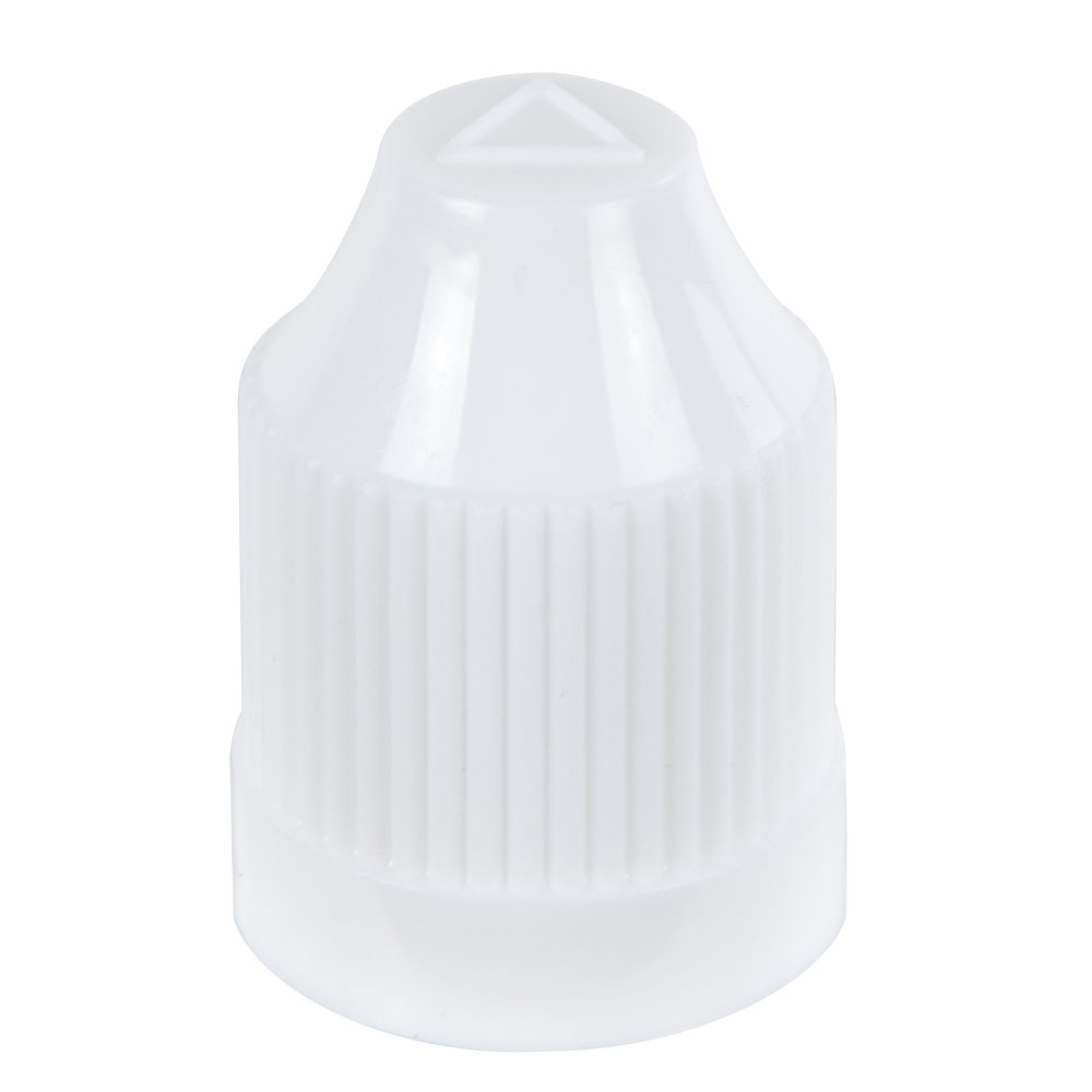 13/415 White CRC Cap for 5mL E-Liquid Bottle