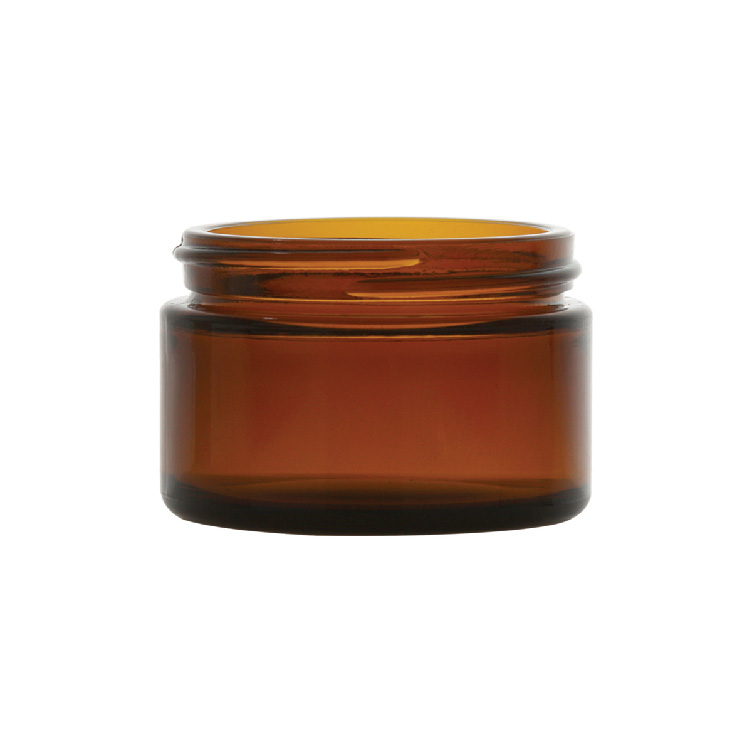1 oz. Amber Glass Jar with 48/400 Neck (Cap Sold Separately)