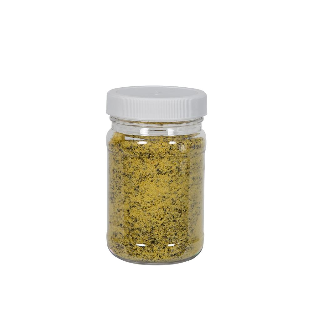 6 oz. Clear PET Jar with 53/400 Cap