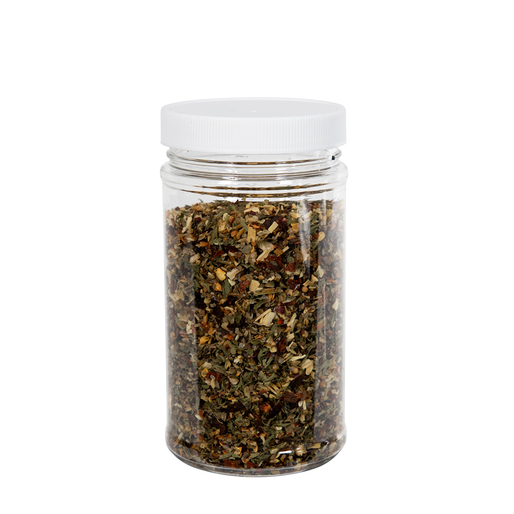 12 oz. Clear PET Jar with 63/400 Cap
