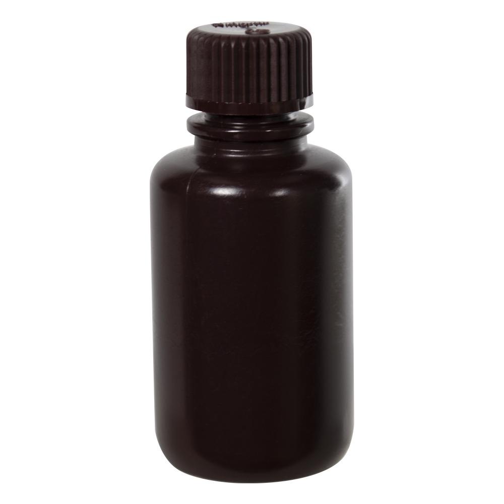 2 oz./60mL Nalgene™ Amber Narrow Mouth Bottle with 20mm Cap