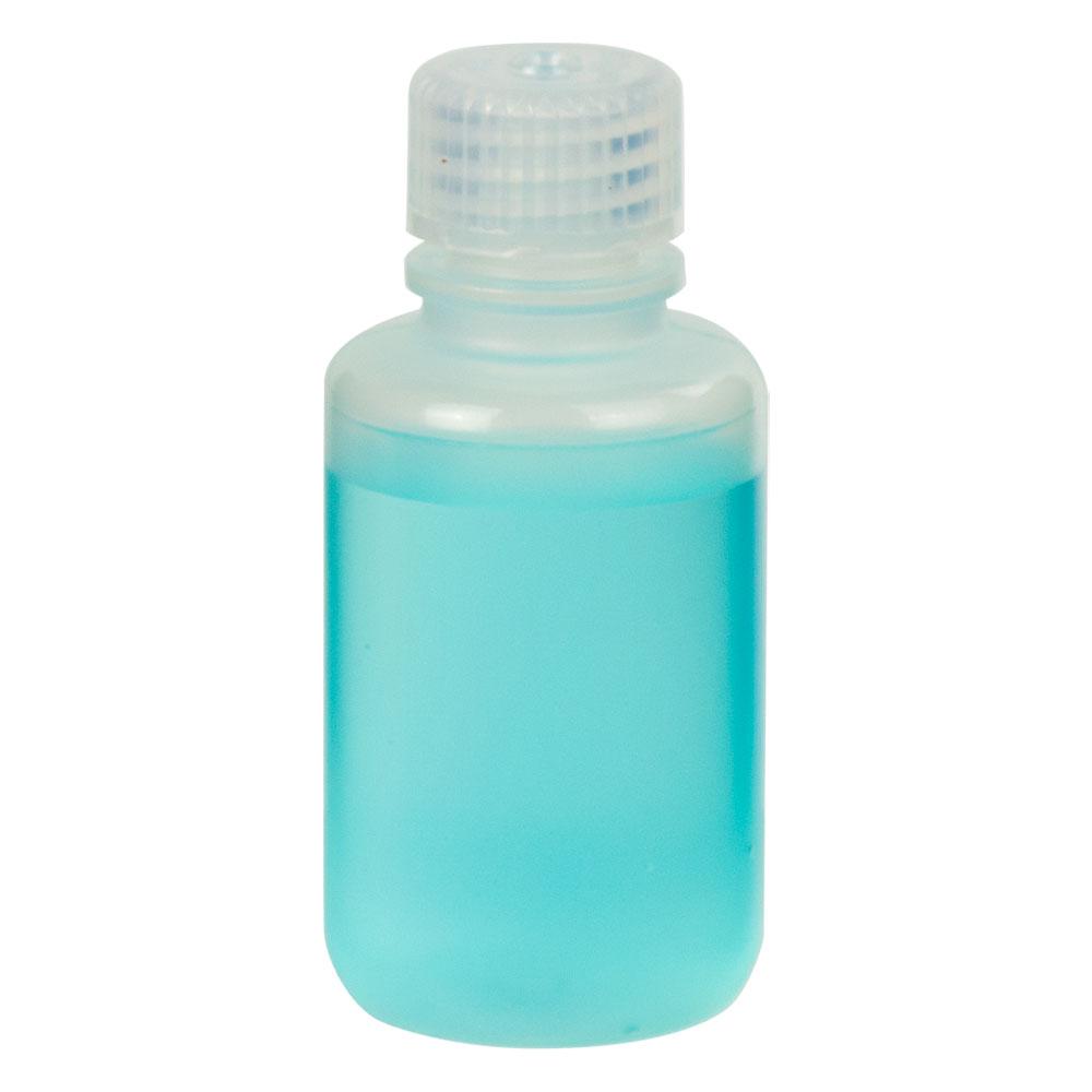 2 oz./60mL Nalgene™ Narrow Mouth Economy Polypropylene Bottle with 20mm Cap