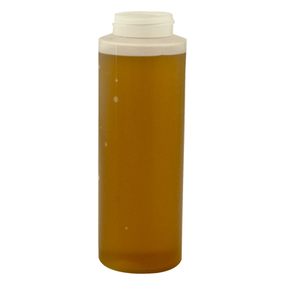 Cylinder 12 oz. Honey Bottle & Caps
