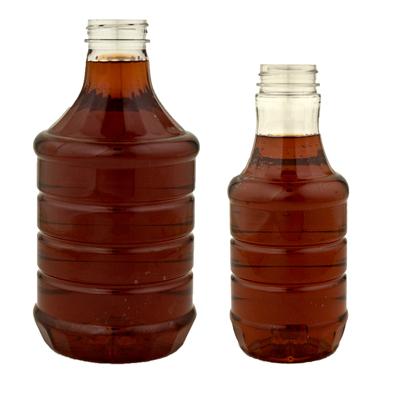 Round PET Sauce Bottles