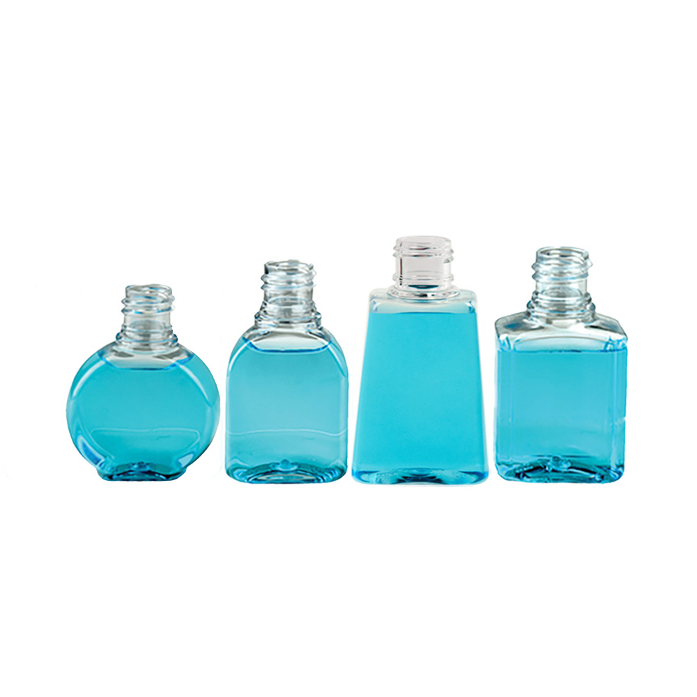 Clear PET Amenity Bottles & Caps