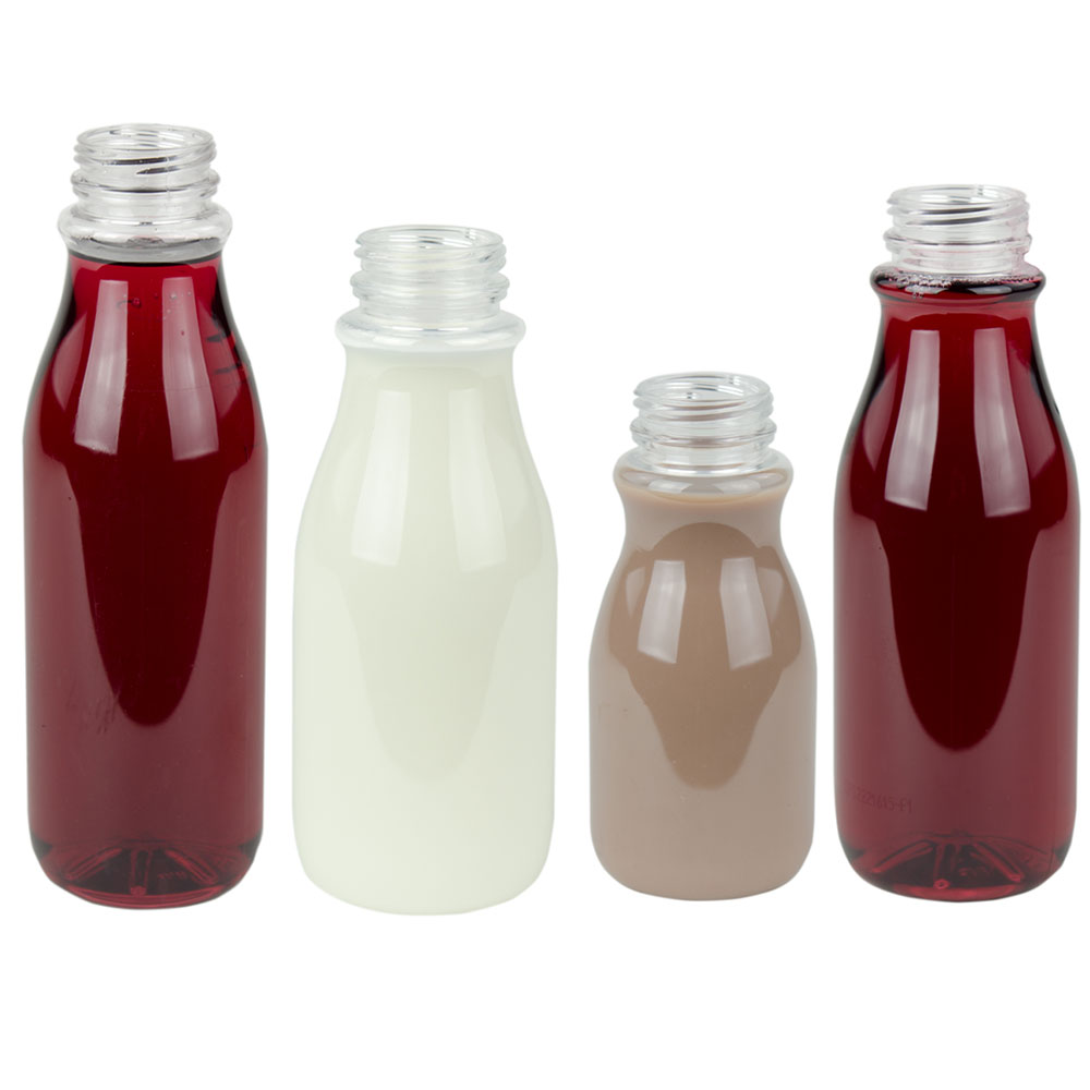 OSD Round PET Beverage Bottles & Caps