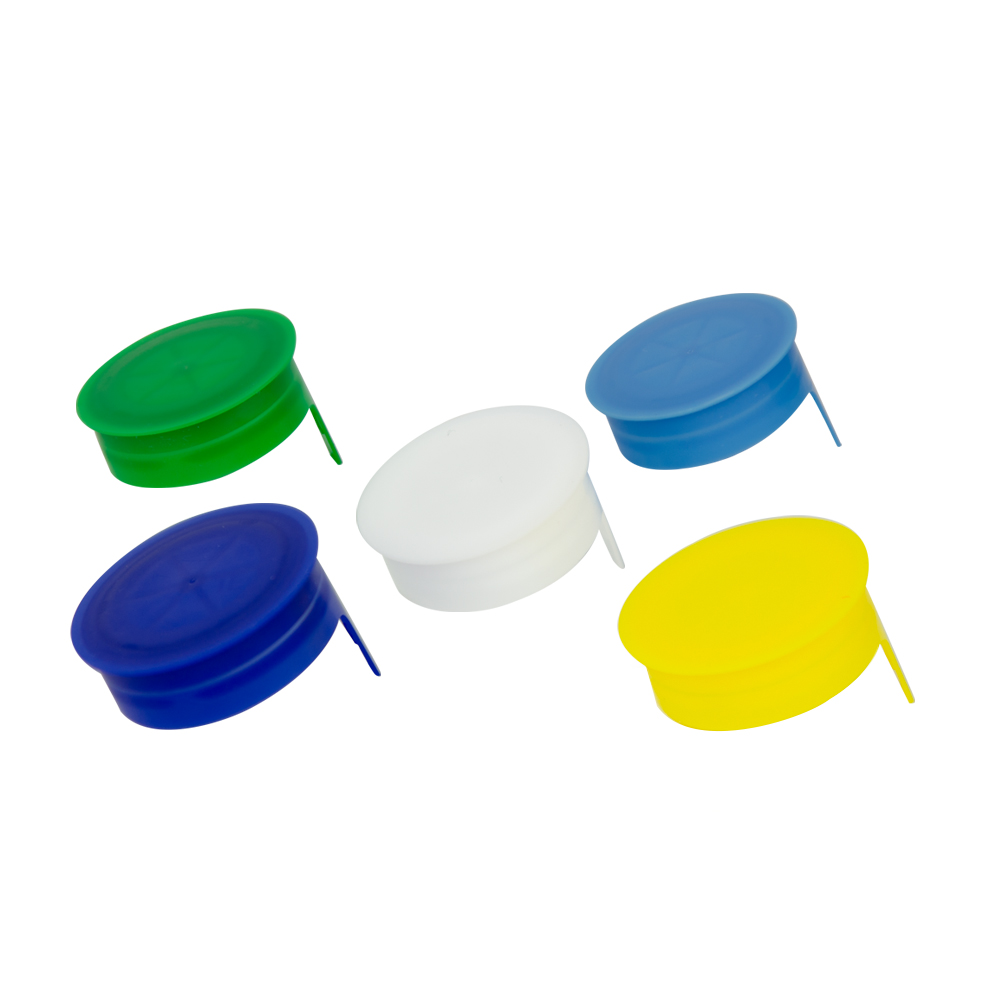 STT Tamper Evident Snap On Caps for Dairy, Juice & Beverage Bottles