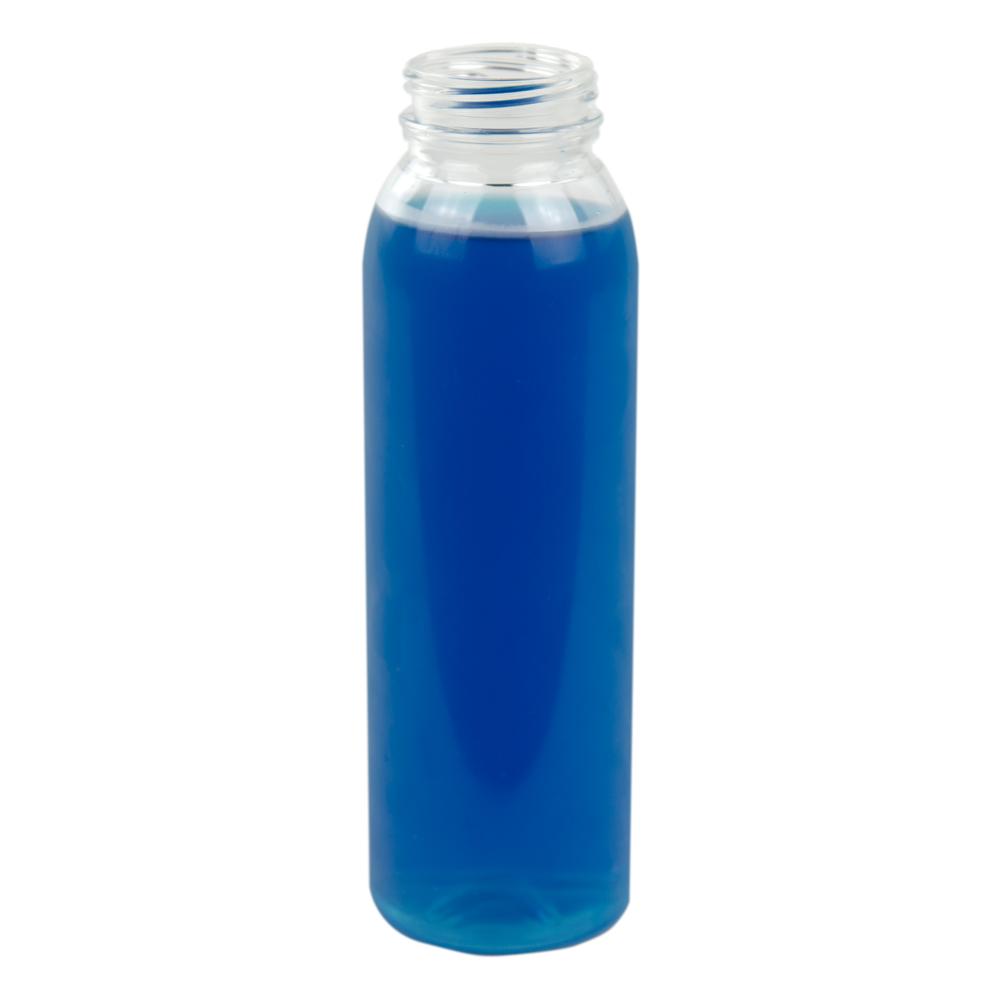 24 oz. Round Energy PET Beverage Bottle with 38mm DBJ Neck (Cap Sold Separately)