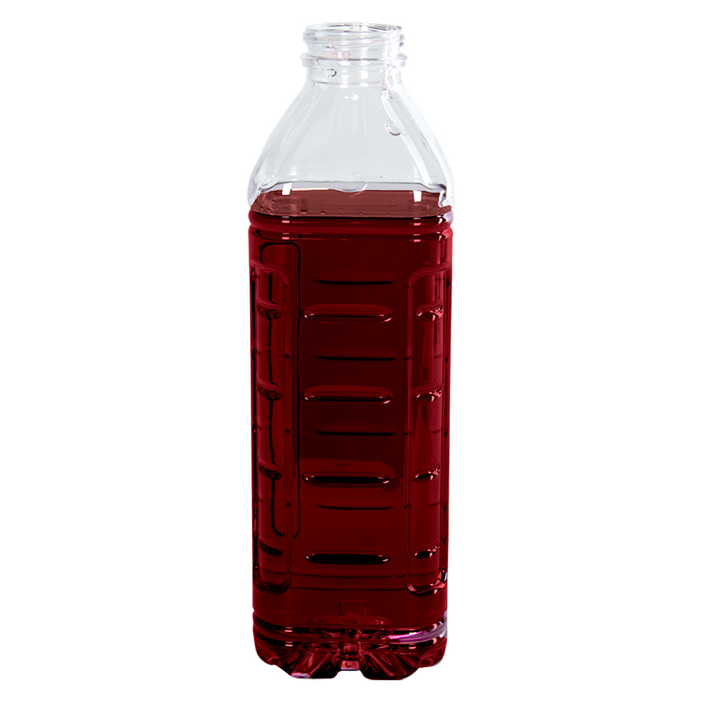 32 oz. Ribbed PET Bottle with 38mm DBJ Neck (Cap Sold Separately)