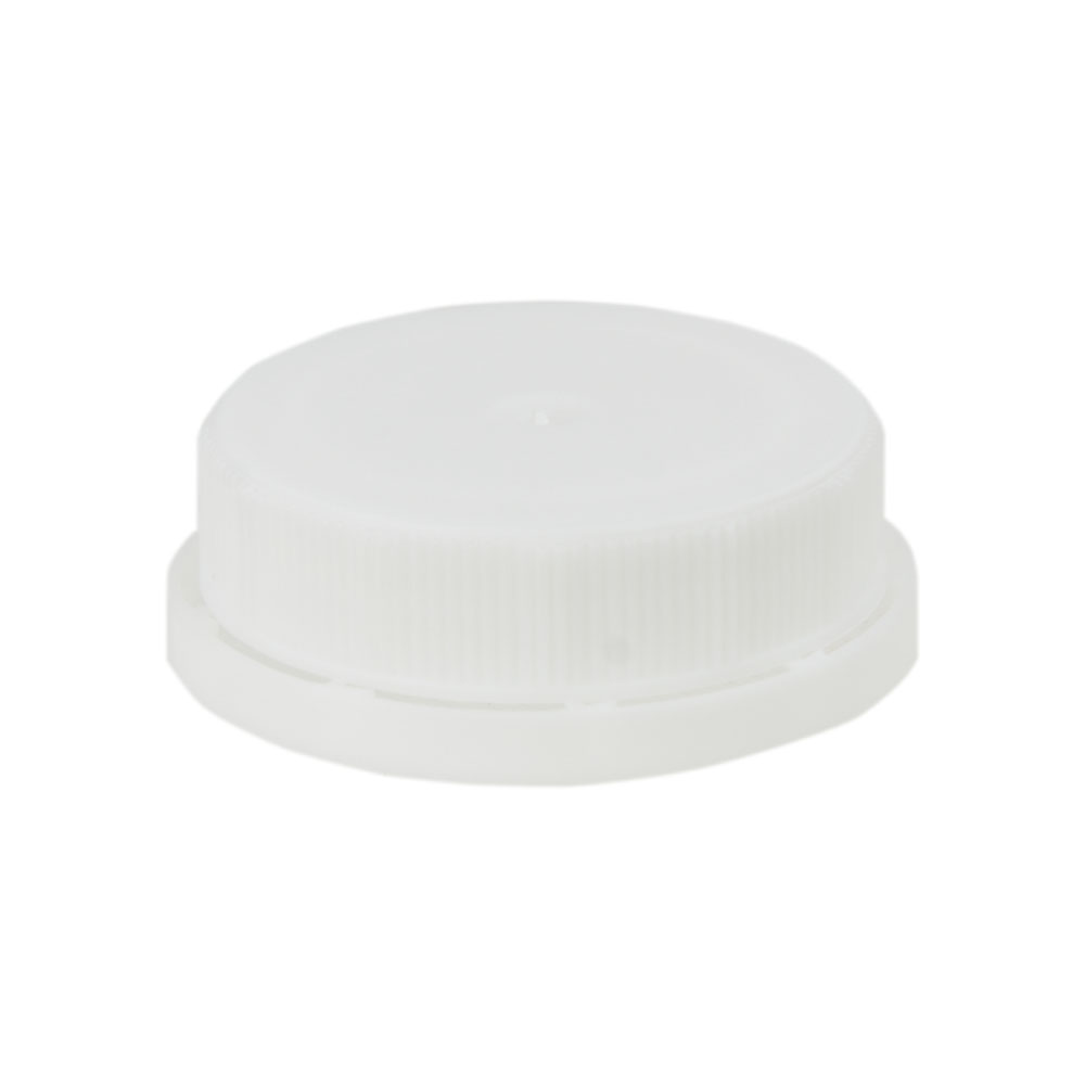 White 38mm Single Thread Cap
