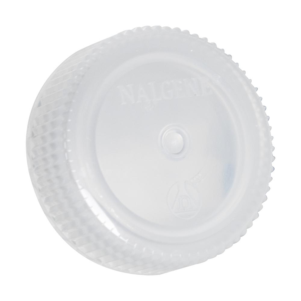 28mm Nalgene™ White Polypropylene Closures - Package of 12