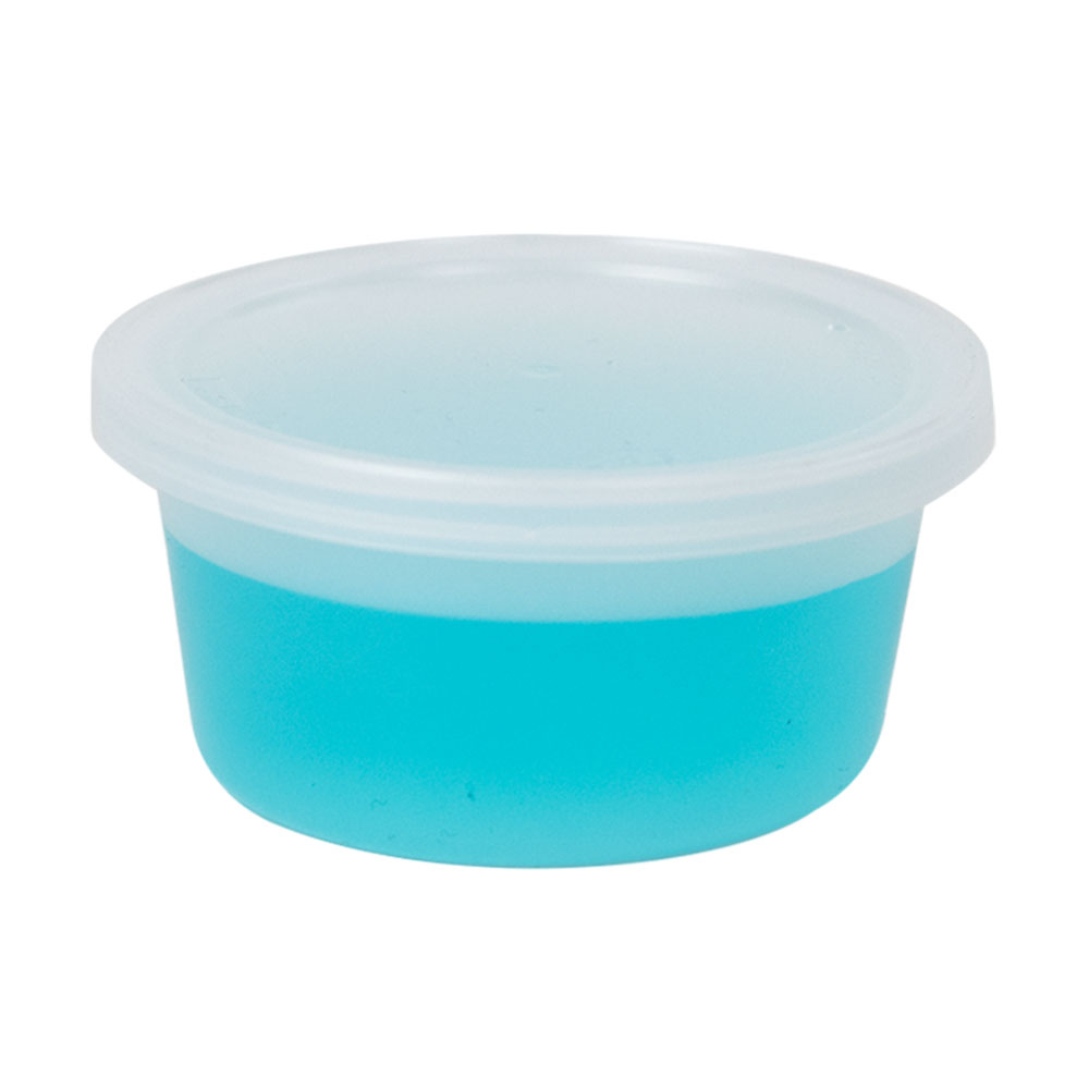 4 oz. Natural Specimen Containers with Lids - Case of 250
