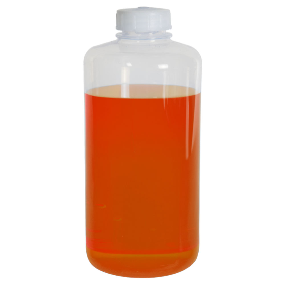 32 oz./1000mL Nalgene™ Teflon® FEP Narrow Mouth Bottle with 38/430 Cap