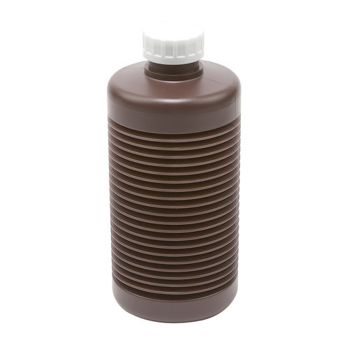 1000mL Round HDPE Concertina Bottle with Cap