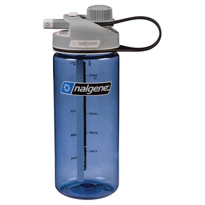 20 oz. Blue Nalgene® Multi-Drink Tritan Water Bottle