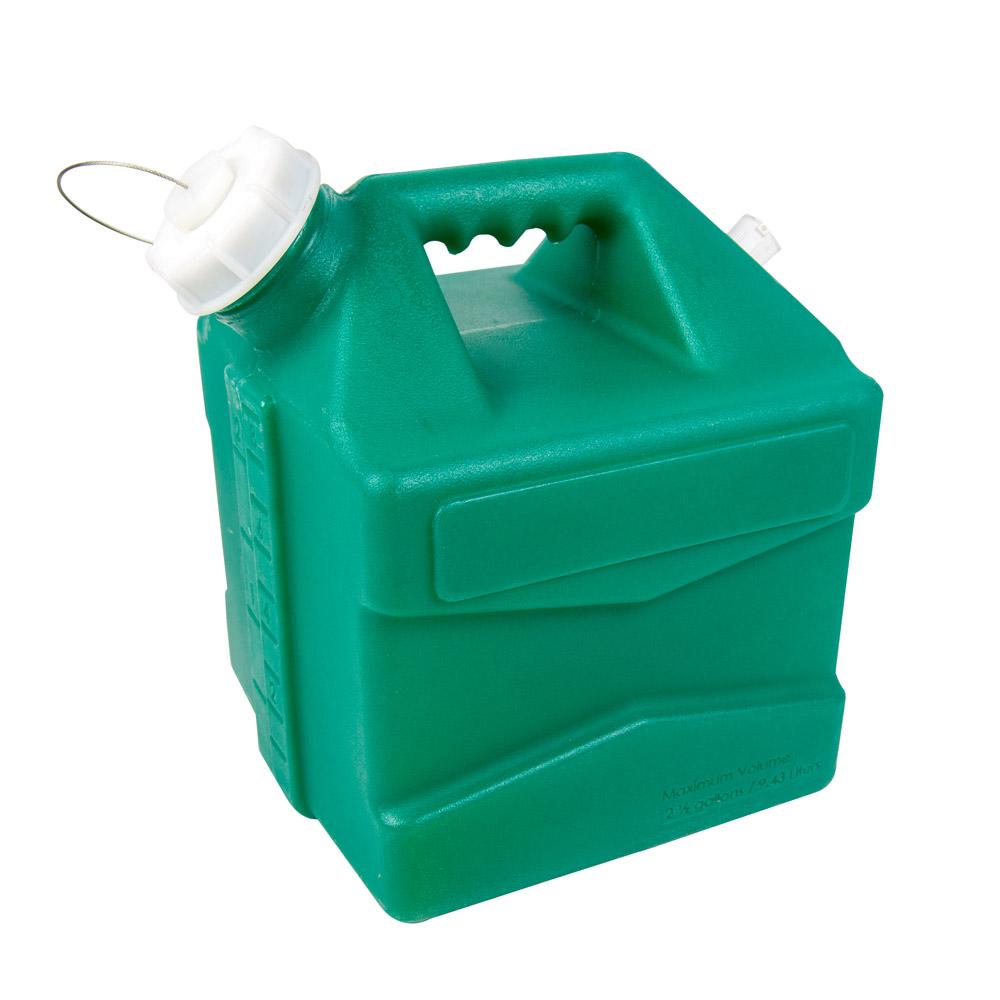 2.5 Gallon Green Jug with Cap