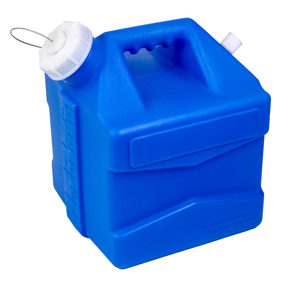 2.5 Gallon Blue Jug with Cap