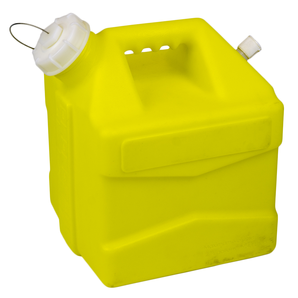 2.5 Gallon Yellow Jug with Cap