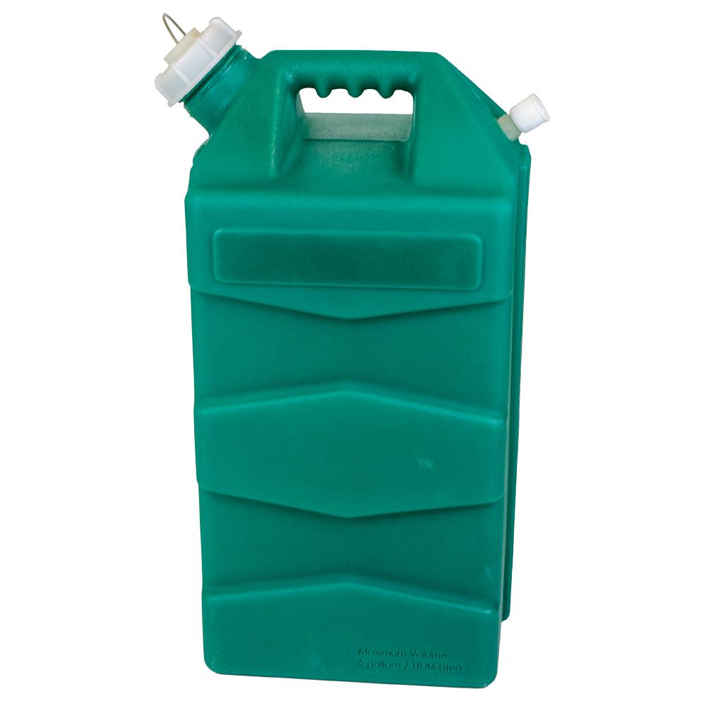 5 Gallon Green Jug with Cap