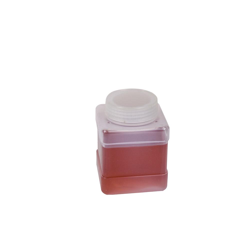250mL Wide Mouth Polypropylene Square Storage Bottle
