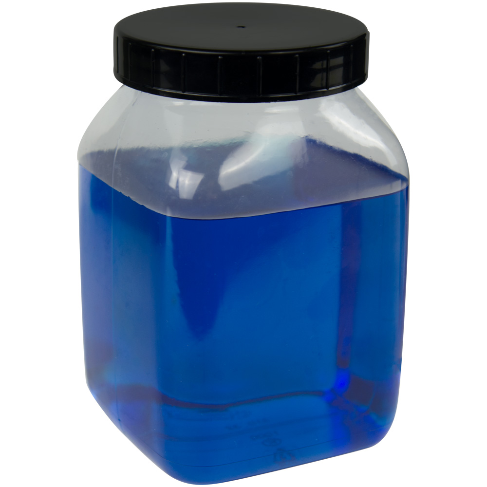 1000mL Wide Mouth PVC Bottles with Caps